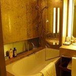 Bathroom with bath/shower option