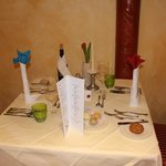 table repas de gala