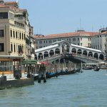Rialto bridge from Grand Canal
