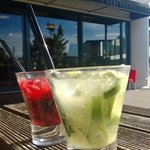Great Cocktails in the sunshine