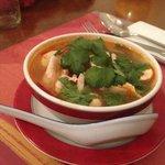 Soupe Won Ton (potage aux raviolis)