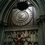 The famous 600 year old clock