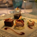 râble de lièvre et une sauce au Châteauneuf géniale !