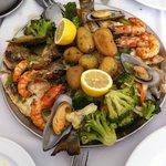 Frutos do mar, sempre frescos