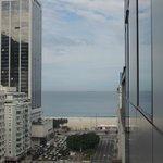 Vista do Hotel.