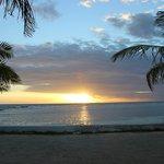 Sunrise at Blue Marlin Resort