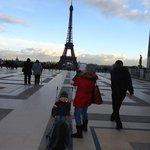 Salida metro estación Trocadero