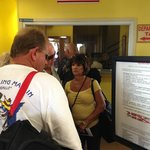Line to pay BVI departure tax
