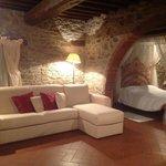 Living Room with Sleeping area