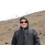 Vulcão Cotopaxi... até onde pude chegar...