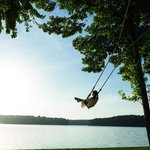 Swing by Lake Oconee