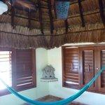 hammock in room