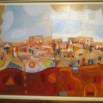 modern art rendition of Israel