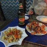 Seafood-dinner. Loved it !