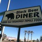 The Bear sign outside