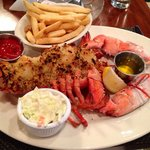 Yummy baked lobster