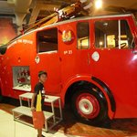 The Dennis Pump Escape was the first vehicle acquired by the Singapore Fire Brigade in 1951.