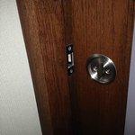 Sliding bathroom door that doesn't shut