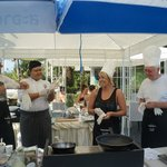 Cooking Classes by the Pool