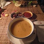 Chez Brahim 1 - zuppa e insalata di melanzane