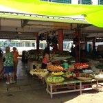 le marché de Mahébourg