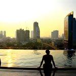 The Bangkok Skyline and the Infinity Pool