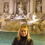 Fontana di Trevi , Roma