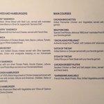 Room service menu page 4