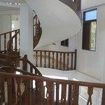 Винтовая лестница в новом корпусе