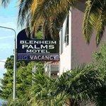 Blenheim Palms Motel Foto