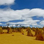 Pinnacles - an eerie landscape