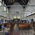 Inside Vasco da Gama Church