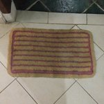 Filthy floor mat