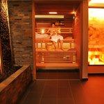 Neue Finnische Sauna im Little Spa