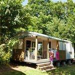 cottage au camping les sables blancs