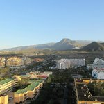 Los Cristianos -the bus station is in the centre of the pic.