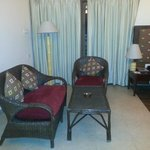 Sofa Area in the Luxury Room