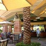 The Edge poolside restaurant