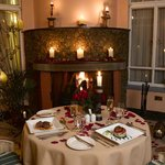 Romantic dining for special events
