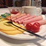 Breakfast platter.