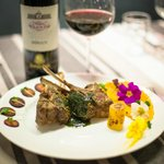 Bistronomy event - Lamb chops with mint sauce