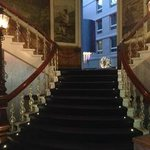 Treppe zur Lobby
