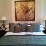 Fantastic bed, Lord Nelson room