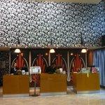 Reception area.