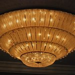 One of the Huge Chandeliers