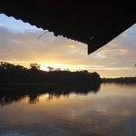 view from rana roja at dawn