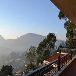Restaurant balcony