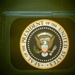 Presidential Seal on Helicopter