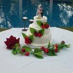 Wedding Cake at El Sueno Tropical