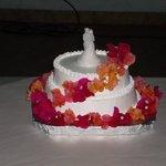 Wedding Cake at Salon Comunal de Carrillo